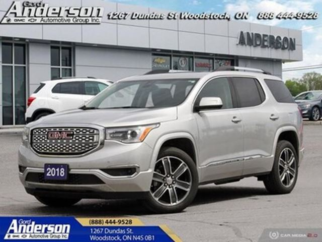2018 GMC Acadia Denali - Leather Seats -  Cooled Seats in