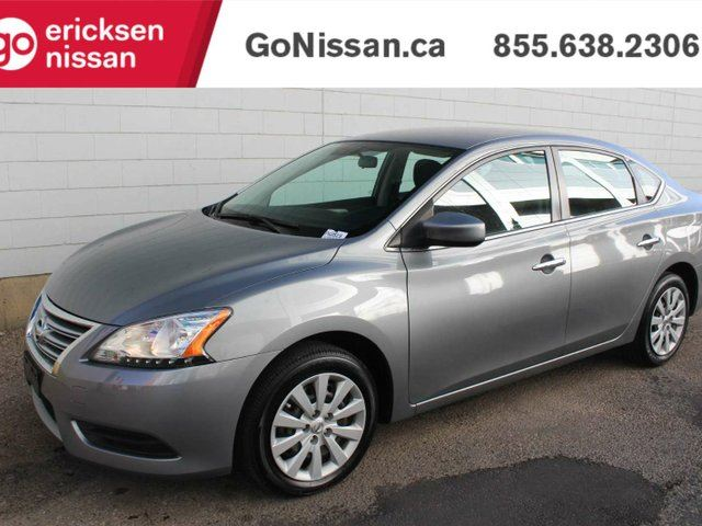 2014 NISSAN Sentra S: AIR CONDITIONING, LOW KMS, POWER OPTION GROUP, BLUETOOTH! in Edmonton, Alberta