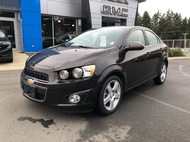 2016 CHEVROLET Sonic LT in Victoria, British Columbia