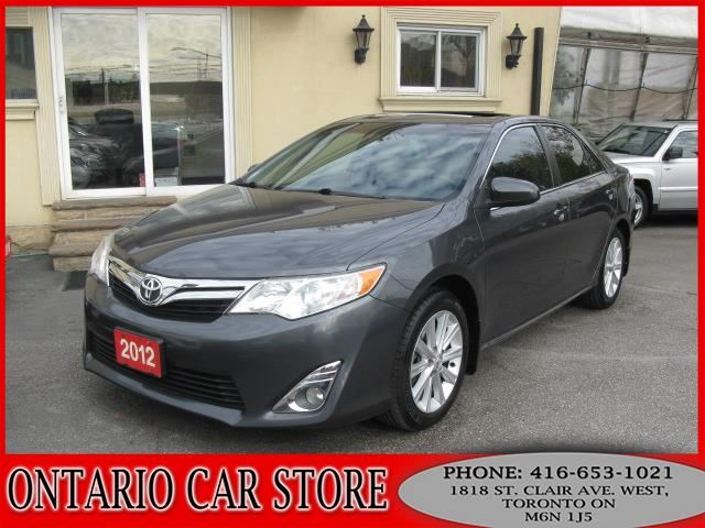 2012 TOYOTA Camry XLE V6 !!!TOP OF THE LINE!!! in Toronto, Ontario