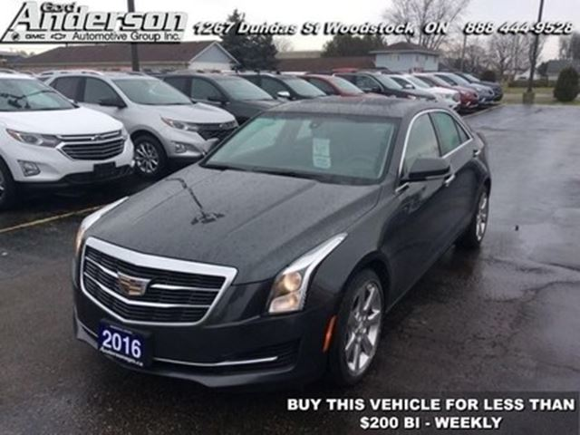 2016 Cadillac ATS 2.0 Turbo Luxury Collection in