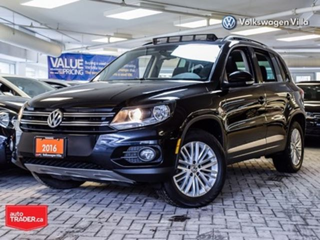 2016 VOLKSWAGEN Tiguan Special Edition (A6) Kessy RCamera Roof in Thornhill, Ontario