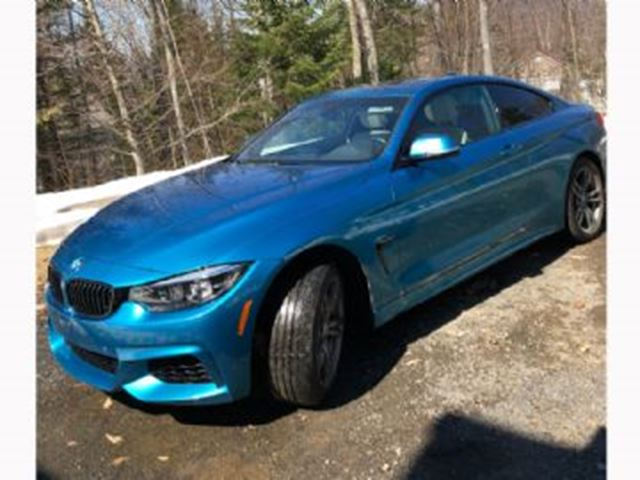 2018 BMW 4 Series 430I XDRIVE GRAN COUP-M PACKAGE in Mississauga, Ontario
