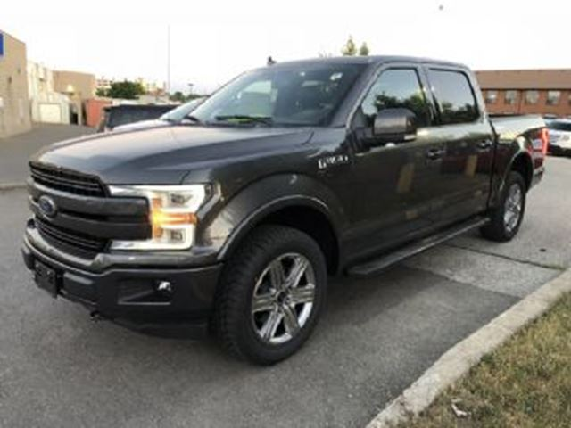 2018 FORD F-150 Lariat Super Crew 5.5' EMPLOYEE PRICED in Mississauga, Ontario