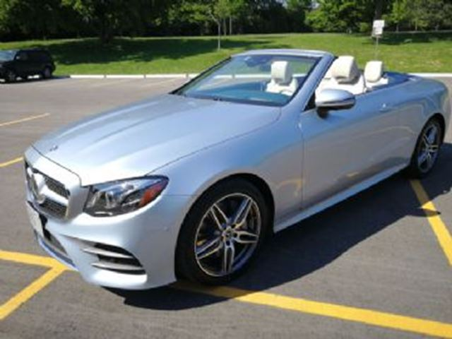 2018 MERCEDES-BENZ E-Class 400 AWD Cabriolet Sport and Tech Package Package in Mississauga, Ontario