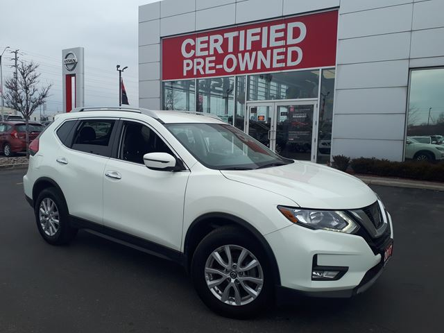 2017 NISSAN Rogue SV FWD  ALLOY WHEELS, BACK UP CAMERA,PUSHBUTTON START,REMOTE STARTER, BLUETOOTH, in Brampton, Ontario