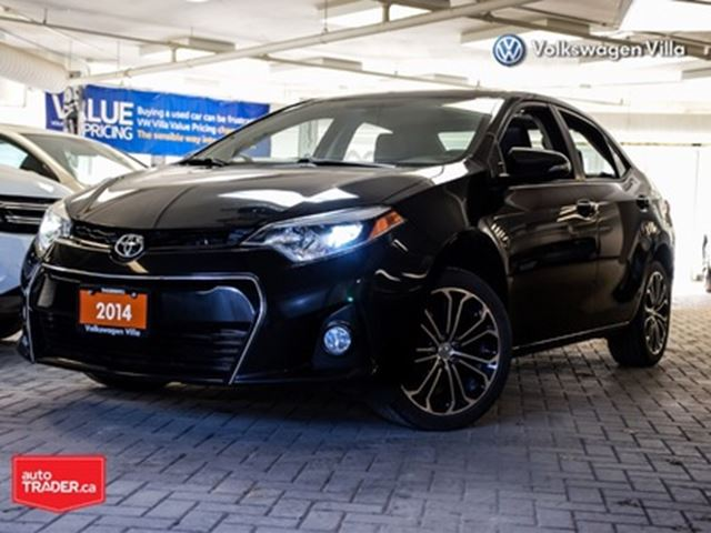2014 TOYOTA Corolla S model Alloys Roof RCamera in Thornhill, Ontario