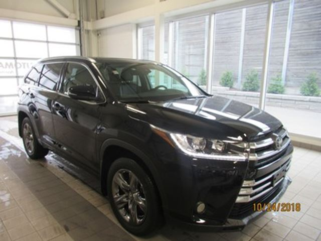2018 TOYOTA Highlander Limited  CLEAN CARPROOF   NO ACCIDENTS in Toronto, Ontario