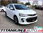 2018 Chevrolet Sonic LT-RS-Camera-Sunroof-Apple Play-Heated Power Seats in London, Ontario