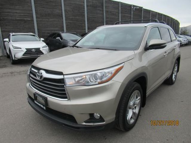 2014 TOYOTA Highlander Limited NO ACCIDENTS  CLEAN CARPROOF in Toronto, Ontario
