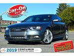 2013 Audi S4 3.0T V6 SUPERCHARGED 333 HP LEATHER SUNROOF LOADED in Ottawa, Ontario