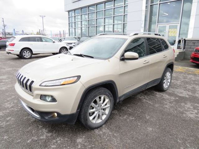 2015 Jeep Cherokee Limited V6 AWD CUIR TOIT GPS in