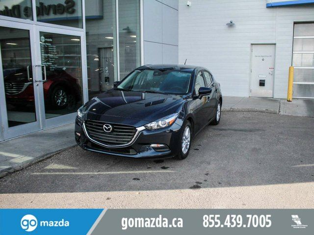 2018 MAZDA MAZDA3 Sport GS SPORT HEATED STEERING WHEEL/SEATS BACKUP CAM in Edmonton, Alberta