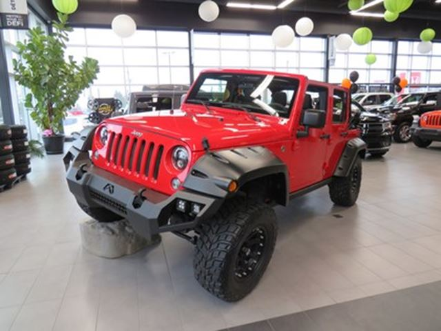 2017 Jeep Wrangler Unlimited Sport NEUF 14 000$ D'ACCESSOIRES INCLUS in
