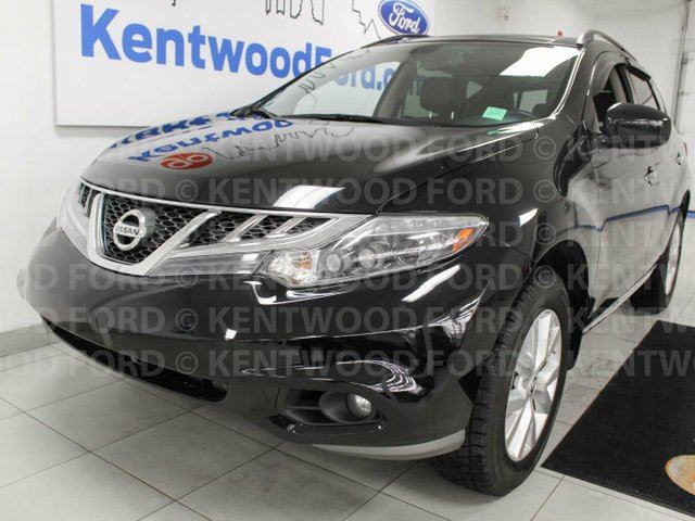 2014 NISSAN Murano SL AWD, sunroof, heated power leather seats, back up cam, push start/stop in Edmonton, Alberta