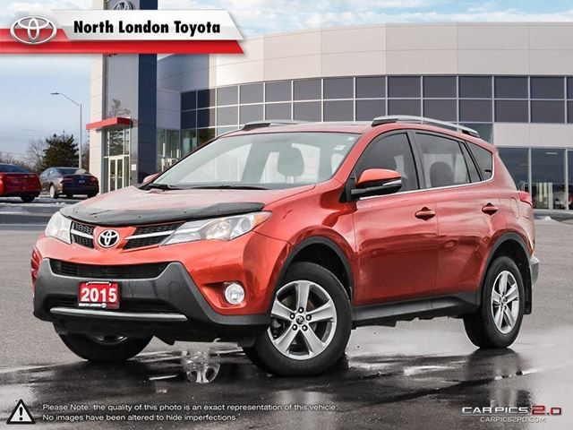2015 TOYOTA RAV4 XLE Great cargo space and safety ratings - Edmunds.com in London, Ontario