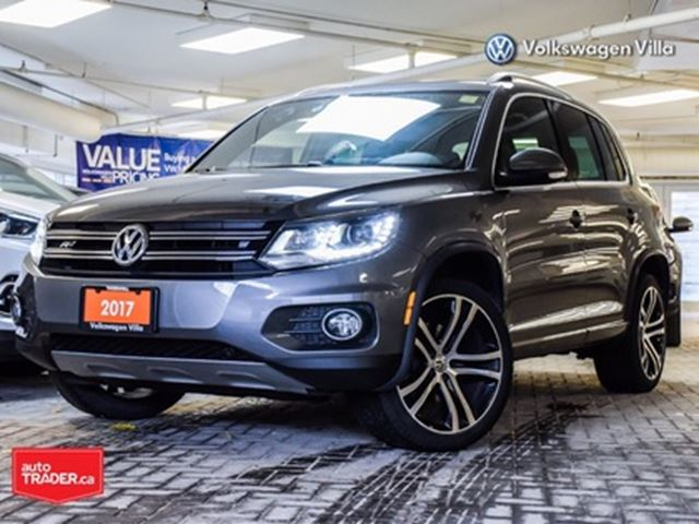 2017 VOLKSWAGEN Tiguan Highline App-connect Roof Leather in Thornhill, Ontario