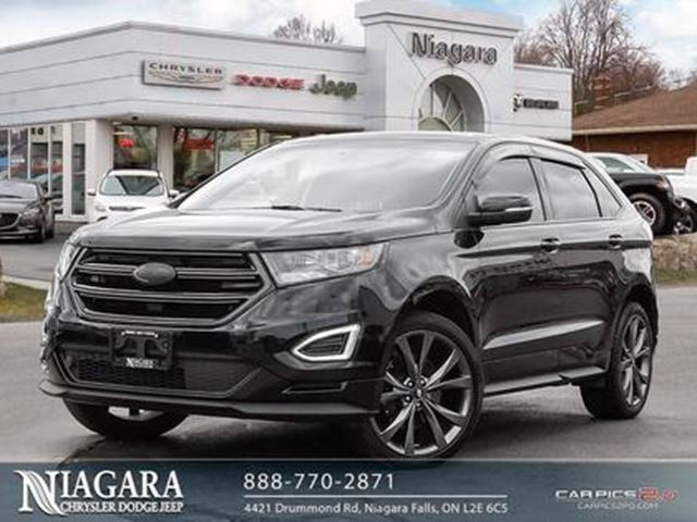 2017 Ford Edge SPORT AWD   PANORAMIC   LEATHER   TRIPLE BLACK! in