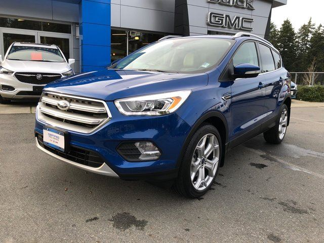 2017 FORD Escape Titanium in Victoria, British Columbia