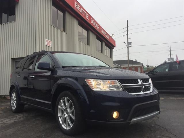2018 Dodge Journey GT LEATHER/ NAV/ AWD in