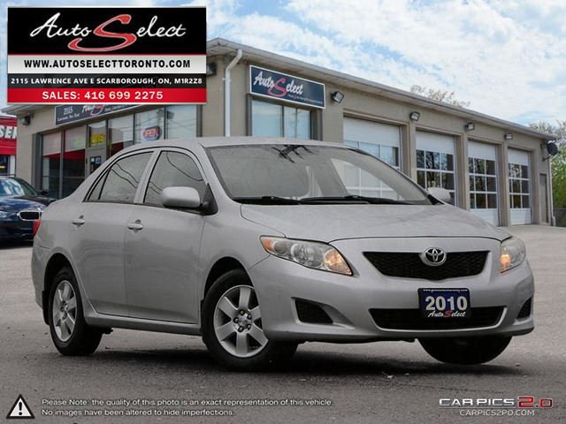 2010 TOYOTA Corolla ONLY 157K! **CE MODEL** ALL POWER OPTIONS in Scarborough, Ontario