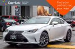 2018 Lexus RC 300 AWD Sunroof Backup Cam Nav Keyless_Entry Cruise Bluetooth 19Alloys in Thornhill, Ontario