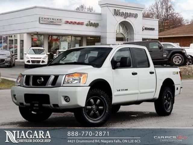 2014 Nissan Titan PRO-4X   CREW CAB   SUNROOF   LEATHER   NAVIGATION in