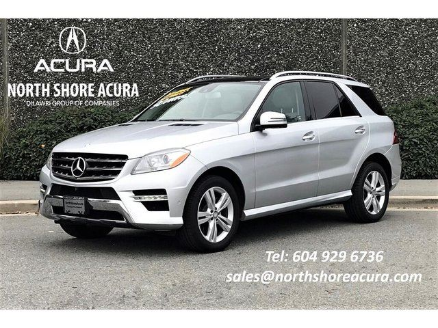 2014 MERCEDES-BENZ M-Class 4matic Navi, Roof, Low Kms in North Vancouver, British Columbia