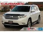2012 Toyota Highlander V6 Limited 7 Passengers   NAVI   Leather   Sunroof in Kitchener, Ontario