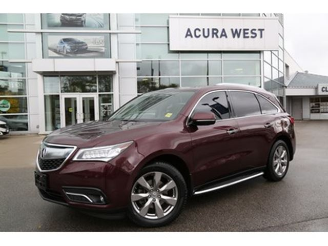 2016 ACURA MDX Elite Package 7 yr/ 130, 000 warranty in London, Ontario