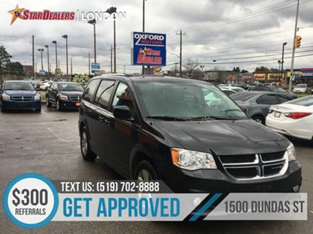 2018 DODGE Grand Caravan Crew   1OWNER   LEATHER   CAM   REAR AIR in London, Ontario