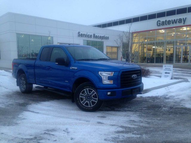 2016 FORD F-150 XLT SuperCab, Heated Seats, Nav in Edmonton, Alberta