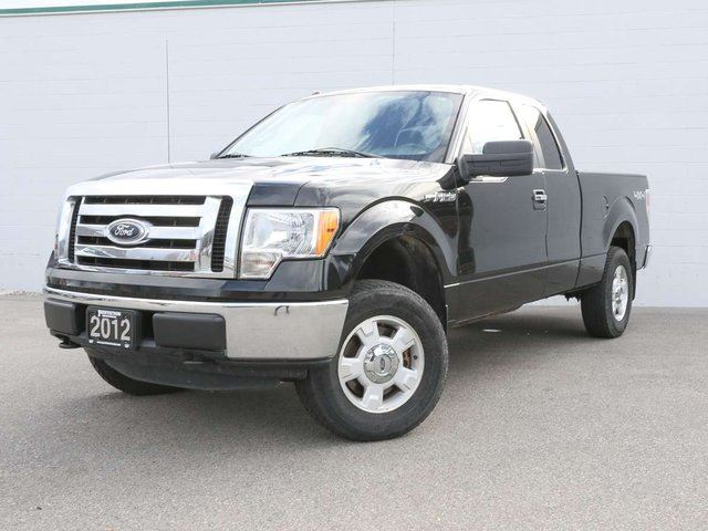 2012 FORD F-150 XLT 4x4 Extended Cab Pickup 144.5 in. WB in Penticton, British Columbia