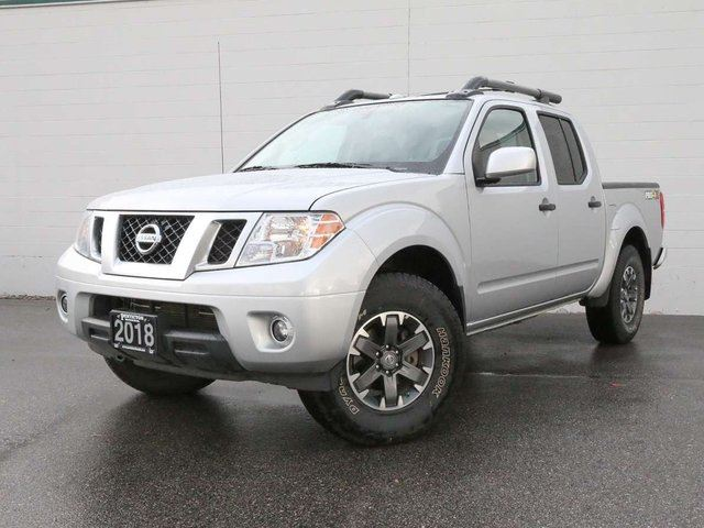 2018 NISSAN Frontier PRO-4X 4x4 Crew Cab 126.0 in. WB in Penticton, British Columbia