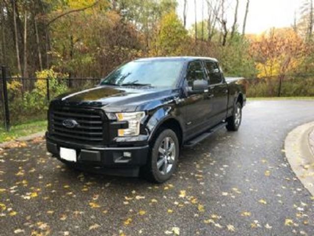 2017 FORD F-150 4x4 SUPER CREW XLT SPORT 6.5' Box in Mississauga, Ontario