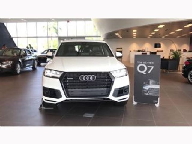 2018 AUDI Q7 Technik w/Running boards, Sport pkg. and more in Mississauga, Ontario