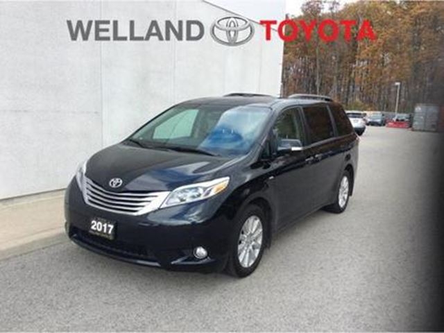 2017 TOYOTA Sienna XLE 7 Passenger XLE Limited AWD - Exceptional Luxu in Welland, Ontario
