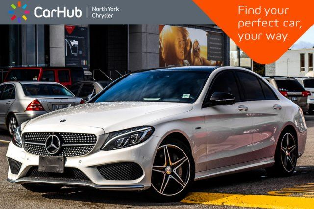 2016 MERCEDES-BENZ C-Class C 450 AMG Pano_Sunroof Keyless_Entry Cruise A/C 18Alloys in Thornhill, Ontario