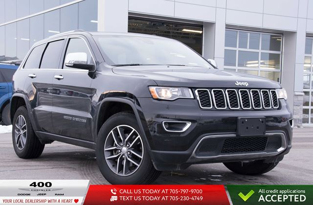 2018 JEEP Grand Cherokee | NEW TIRES | HEATED LEATHER | MOONROOF | in Innisfil, Ontario