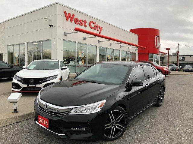 2016 HONDA Accord  TOURING, ONE OWNER, LOADED! in Belleville, Ontario