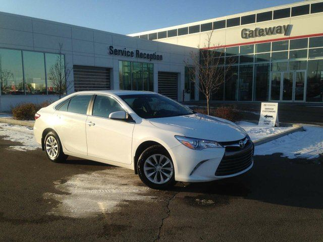 2017 TOYOTA Camry LE Air Conditioning, Cruise Control, Backup Cam in Edmonton, Alberta