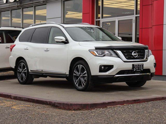 2018 Nissan Pathfinder Platinum in