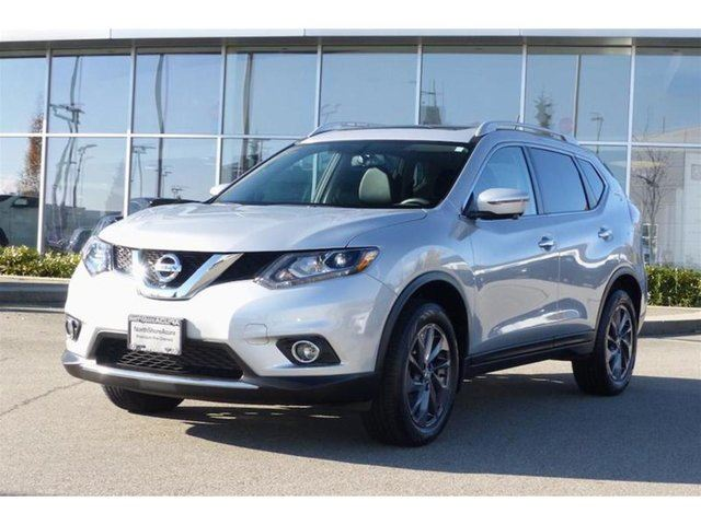 2016 Nissan Rogue SL AWD Premium CVT *low kms* in