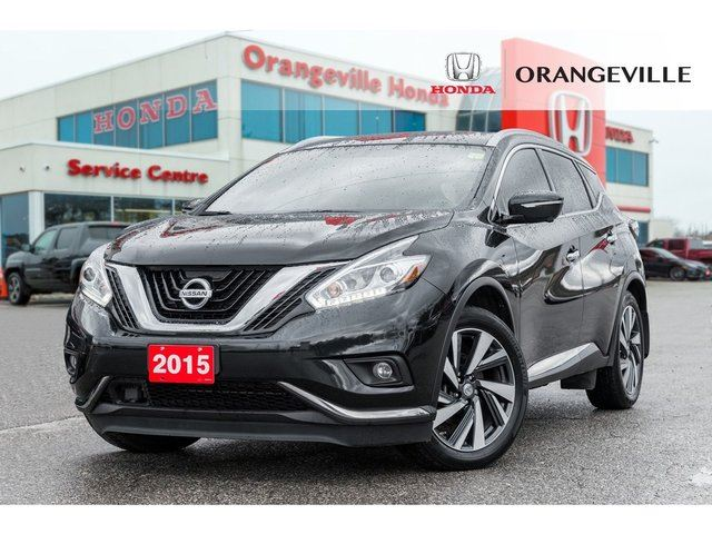 2015 Nissan Murano Platinum NAVIGATION BACKUP CAM PANO ROOF LEATHER in