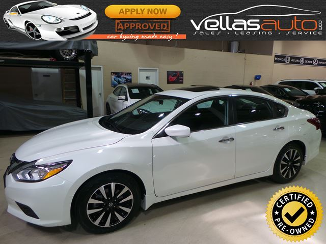 2018 Nissan Altima 2.5 SV| SUNROOF| HEATED SEATS| REMOTE STARTER in