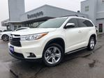 2015 Toyota Highlander Limited  ONE OWNER in Simcoe, Ontario