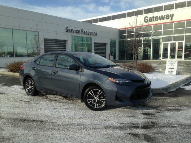 2017 TOYOTA Corolla LE, Sunroof, Heated seats, Heated Steering in Edmonton, Alberta
