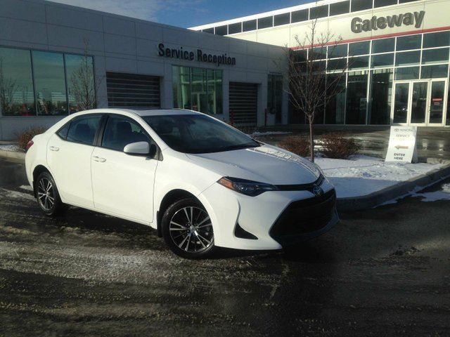2017 TOYOTA Corolla LE Backup Cam, Bluetooth, Sunroof, Heated Seats in Edmonton, Alberta