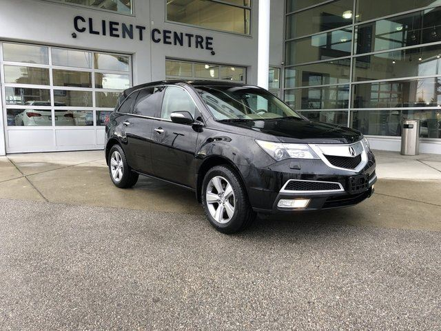 2012 Acura MDX Technology in