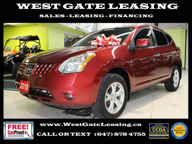 2010 Nissan Rogue SL AWD  LEATHER  SUNROOF  CERTIFIED  in